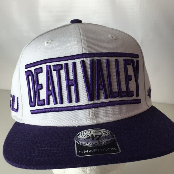 NEW LSU Tigers Cap DEATH VALLEY Spellout b54bfb98516d